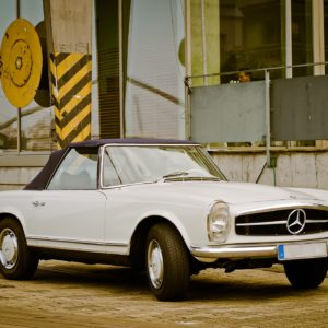 """Mercedes 230SL, 250SL, 280SL, W113 """"Pagoda"""""""